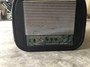 Powered subwoofer for Sale in Laurel, MD