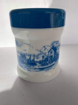 Milk Glass Humidor for Sale in Midland, MI