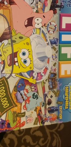 Life Spongebob Edition for Sale in Federal Way,  WA