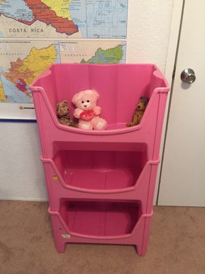Stacking Toy Bins, Set of 3 for Sale in Payson, AZ