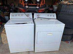 Free washer dryer and over the range microwave for Sale in Glendale, AZ