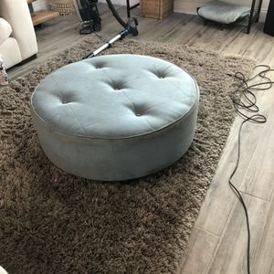 Simple Blue Ottoman for Sale in Fort Lauderdale, FL