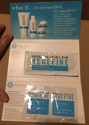 Rodan + Fields Give It a GLOW sample packs for Sale in Chandler, AZ