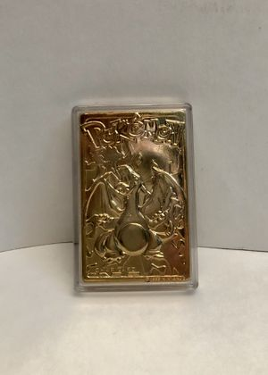 Pokemon Charizard Gold Plated Burger King Limited Edition Collectible for Sale in Buena Park, CA