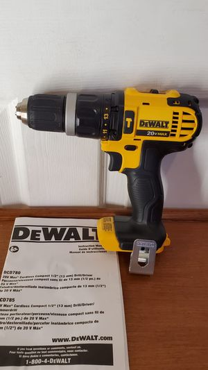 DeWalt 20V taladro martillo 🔨 NUEVO!!!! DeWalt 20V hammer 🔨 drill NEW!!! for Sale in Chicago, IL