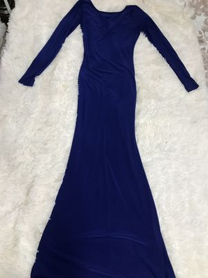 Long royal blue evening dress for Sale in Dayton, OH