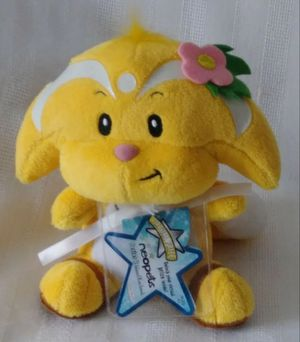 Neopets VIRTUAL Code Island Kacheek Plush Doll Jakks Pacific for Sale in Homestead, FL