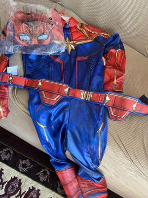 Captain Marvel size Medium girls costume for Sale in Stockton, CA