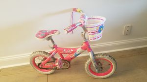 Size 12 Barbie toddler bike for Sale in McLean, VA