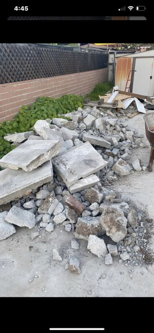 Free Concrete!!!! for Sale in San Diego, CA