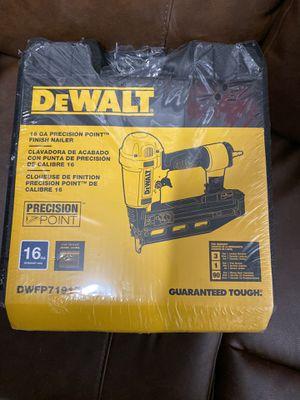 DeWalt finish nailer 16 gauge air powered for Sale in Reno, NV
