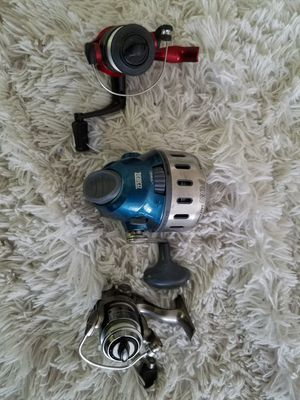 Fishing reels and rods , baitcasting, spinning for Sale in Vista, CA