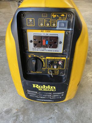 Robin Subaru inverter generator for Sale in Pueblo, CO