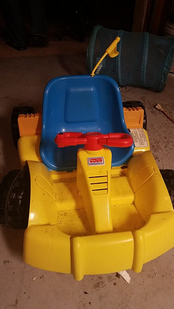 Fisher price electronic car