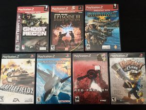 PS2 Game Bundle for Sale in Tampa, FL