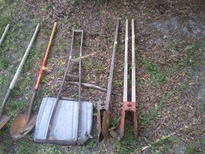 Shovels. Rakes, post diggers axes pitch forks etc.. for Sale in Spring Hill, FL