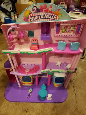 Shopkins Shoppies Super Mall and Happy stables for Sale in Orland Park, IL