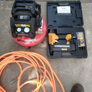 Compressor And Nailer for Sale in Katy, TX