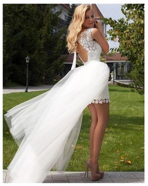 White weeding bridal dress size 8 for Sale in Chicago, IL