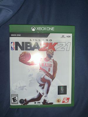 Nba 2k21 Xbox one brand new for Sale in Miami, FL