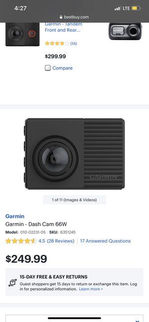 Garmin Dash Cam for Sale in Los Angeles, CA