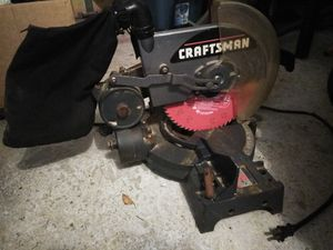 Craftsman Miter Saw for Sale in Virginia Beach, VA