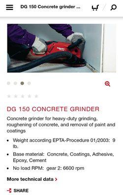 Concrete Grinder for Sale in Arlington,  TX