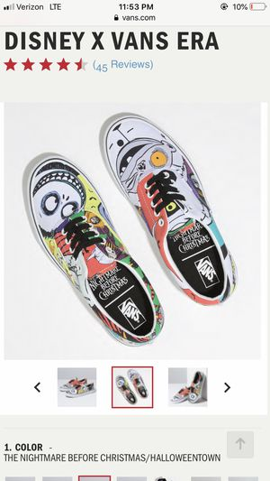 Nightmare before Christmas vans BRAND NEW for Sale in Brooklyn, NY