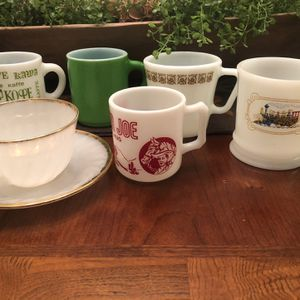 7 Piece vintage Mug Set for Sale in Goose Creek, SC