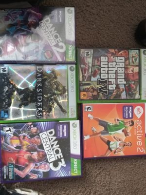 All 5 xbox 360 games for the low for Sale in Denver, CO