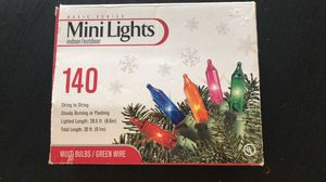 30 FEET long mini colored lights for Sale in Rocky Hill, CT
