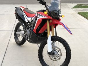 Motorcycle Honda 250 Rally - basically new for Sale in Fresno, CA