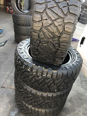 NITTO 33/12.50R20 Tires (4 for $600) for Sale in Santa Fe Springs, CA