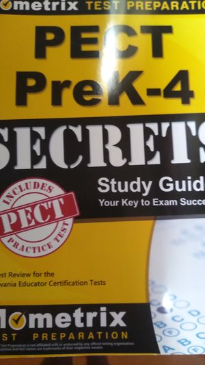 PECT PreK-4 study guide for Sale in Shickshinny, PA