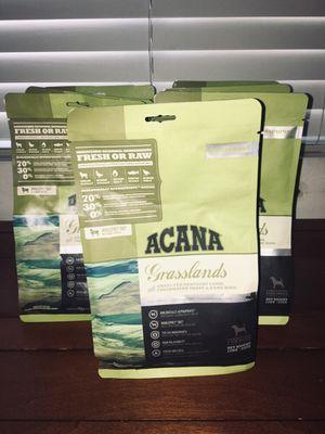 ACANA Regionals Grasslands Dry Dog Food (12 oz) for Sale in Phoenix, AZ
