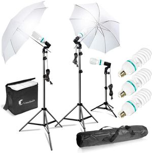 (NEW) $65 - Continuous Lighting Kit Photo Portrait Studio 660W Day Light Umbrella, Ready for Pick Up for Sale in Pomona, CA