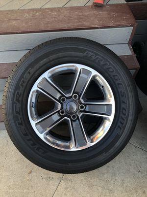 Bridgestone DUELER H/T Tires with Wheels for Sale in Burbank, CA