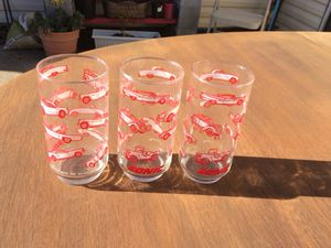 Hot Rod Collectable Glasses- Set 8 for Sale in Mesquite, TX
