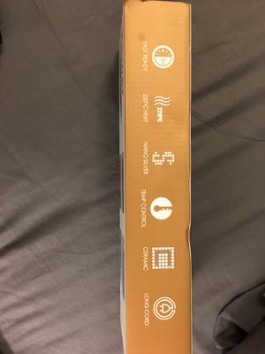 Hair straightener new in box for Sale in Boca Raton, FL