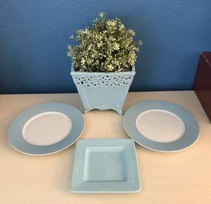 Light Blue Home Decor- 4 Items for Sale in San Jose, CA