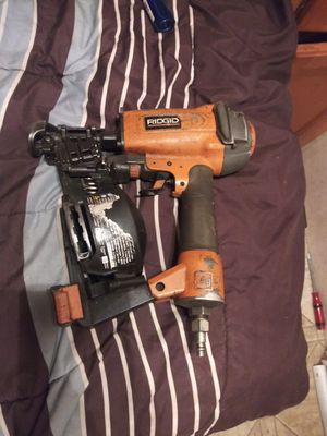 Ridgid mg roofing nail gun for Sale in Los Angeles, CA