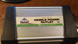 PEAK MOBILE POWER OUTLET 800W for Sale in Charlotte, NC