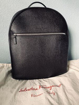 Salvatore Ferragamo Revival Leather Backpack for Sale in Martinez, CA