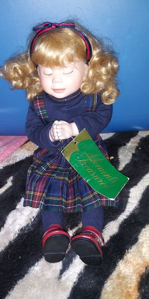 Prayin' Baby Porcelain Doll. for Sale in McRae-Helena, GA