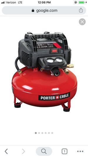 Porter air compressor for Sale in Salt Lake City, UT