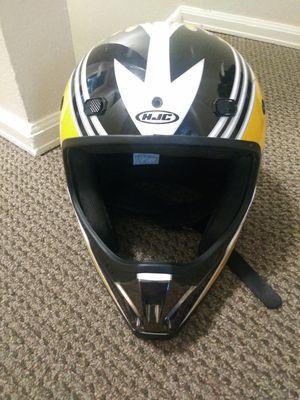 Motorcycle helmet(yellow, white, black) for Sale in Denver, CO