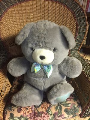 "Big Gray Teddy Bear 28"" for Sale in Hightstown, NJ"