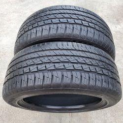 Goodyear EAGLE F1 ASYMMETRIC ALL-SEASON 235/50R18 Pair (2 tires) 235/50/18 for Sale in Sacramento,  CA