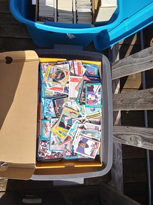 Books and boxes of baseball and football cards all for 40 $ for Sale in Bremerton, WA