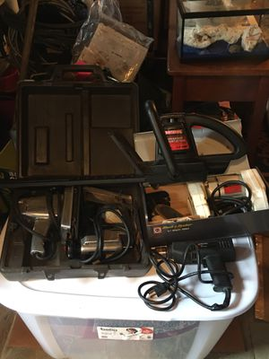 Lot of Craftsman & Black & Decker corded power tools for Sale in Morrisville, PA